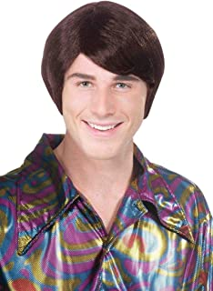 70's Sideswept Adult Male Costume Wig