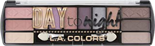 L.A. COLORS Day To Night 12 Color Eyeshadow Palette, Dawn, 0.28 Oz