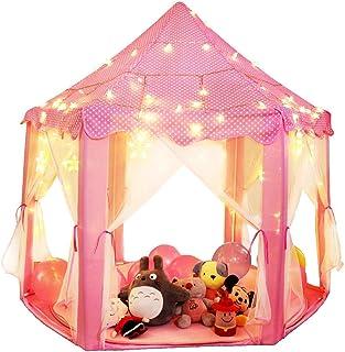 Juego de Castillo princesa interior tiendas, a los niños Shayson al aire libre Portable gran