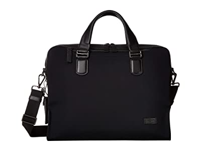 Tumi Harrison Bradford Brief (Black) Briefcase Bags