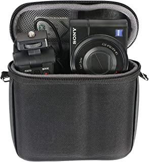 co2crea ハードトラベルケース Sony Cyber-Shot DSC-RX100 III IV V VI デジタル静止カメラとVCTカメラグリップ用