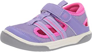 Stride Rite baby-girls Liam Sandal, purple 5 W US Toddler