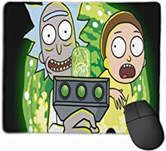 Mouse Pad,Rick - Morty (38) Gaming Mouse Mat Office Mousepads Non Slip Rubber Base Mouse Pads for Computers, Laptop, Office & Home,Thicken Rubber Anti Skid Backing,11.8x9.8 in