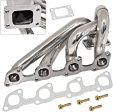 AJP Distributors For Volvo 240 740 940 2.3L Sohc T3/T4 Turbo Charger Exhaust Manifold Header Stainless Steel