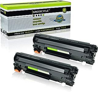 GREENCYCLE 2 PK C128 Black Laser Toner Cartridges Compatible Canon 128 Toner for Canon ImageClass D550 D530 MF4412 MF4580dn