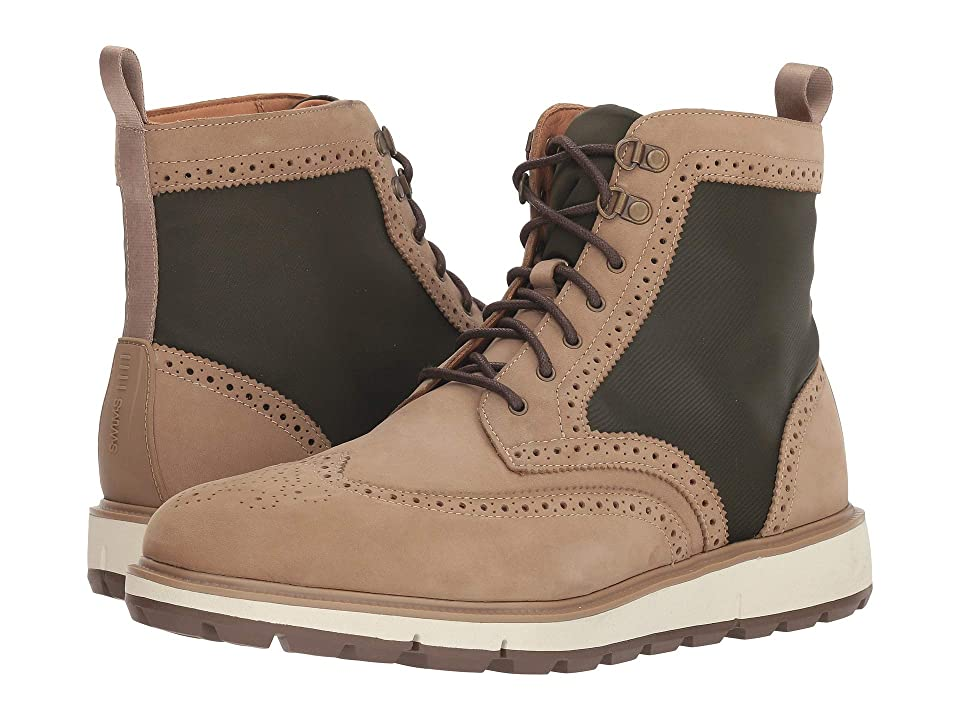 SWIMS Motion Wing Tip Boot (Gaucho/Olive) Men