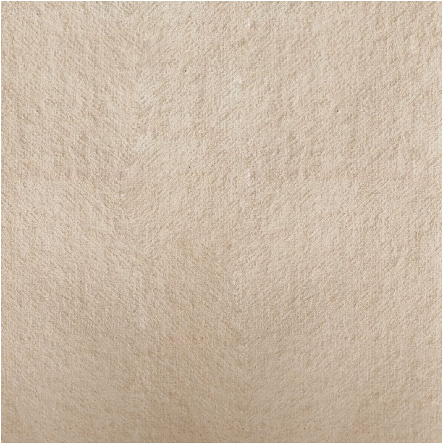 Hoffmaster 125086 Linen-Like Natural Flat Pack Napkin, 16  Length x 16  Width (Case of 1000)