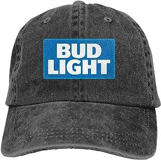 Sun Cap Men Women Unique Hats Unisex Hats Bud-Light-Logo