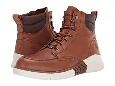 Timberland M.T.C.R. Moc Toe Boot (Medium Brown Full-Grain) Men