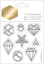 Papermania PMA 907261 Scrapbook Stamps, Clear