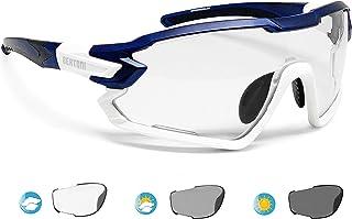 BERTONI Gafas Ciclismo Running MTB Esquí Tennis Padel Polaridas Fotocromaticas Mod. Quasar Italy