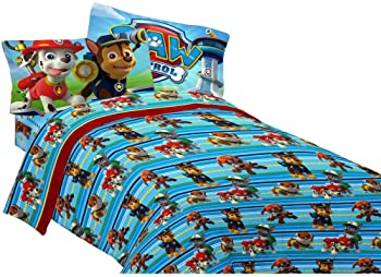 4pc Paw Patrol Puppy Hero Full Sheet Set