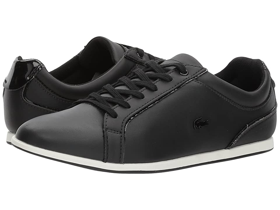 Lacoste Rey Lace 417 1 (Black) Women