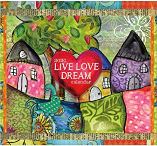 2020 Live Love Dream 365 Daily Thoughts Desk Calendar, by Lang Companies