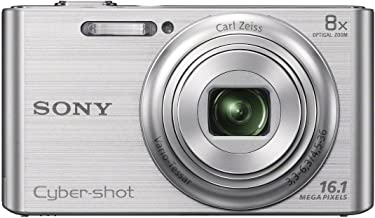 Sony DSC-W730 16.1 MP Digital Camera with 2.7-Inch LCD (Silver) (OLD MODEL)