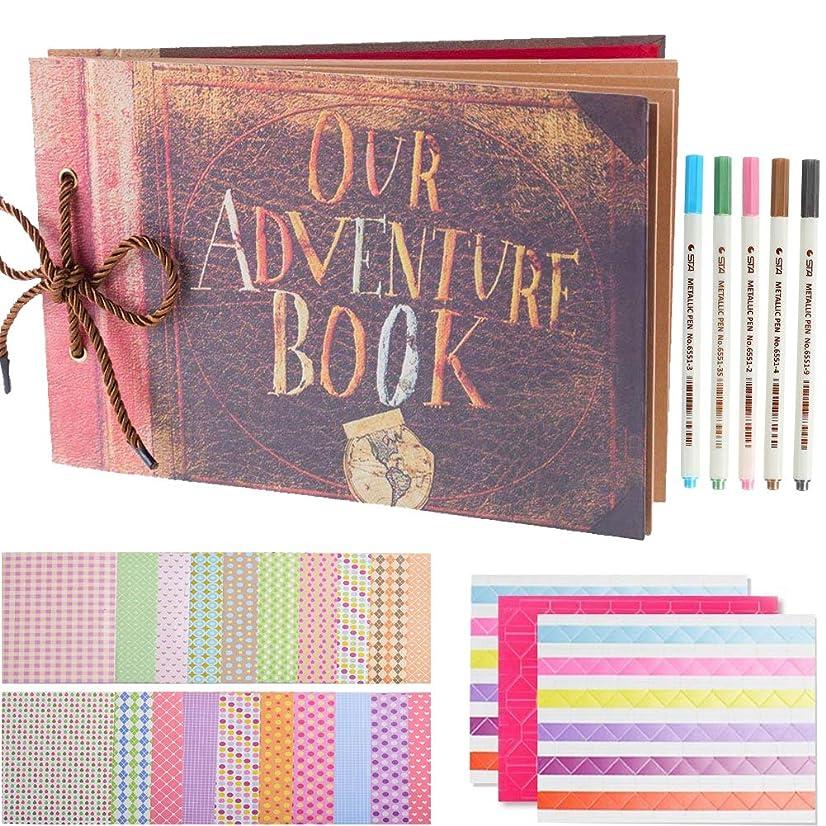 SAIKA Our Adventure Book Pixar Up Handmade DIY Family Scrapbook Album with DIY Accessories Kit