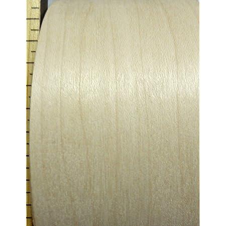 """Maple wood veneer edgebanding roll 3//4/"""" x 120/"""" with preglued adhesive .75/"""""""