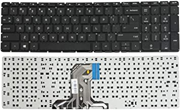 New US Black English Laptop Keyboard (Without palmrest) Replacement for HP TPN-C125 TPN-C126 TPN-C122 HQ-TRE RTL8723BE PK131O21A00 PKNR081B1