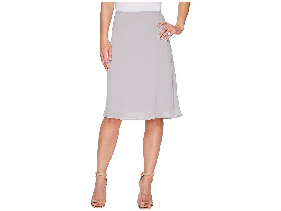 NIC+ZOE Paired Up Skirt (Zinc) Women