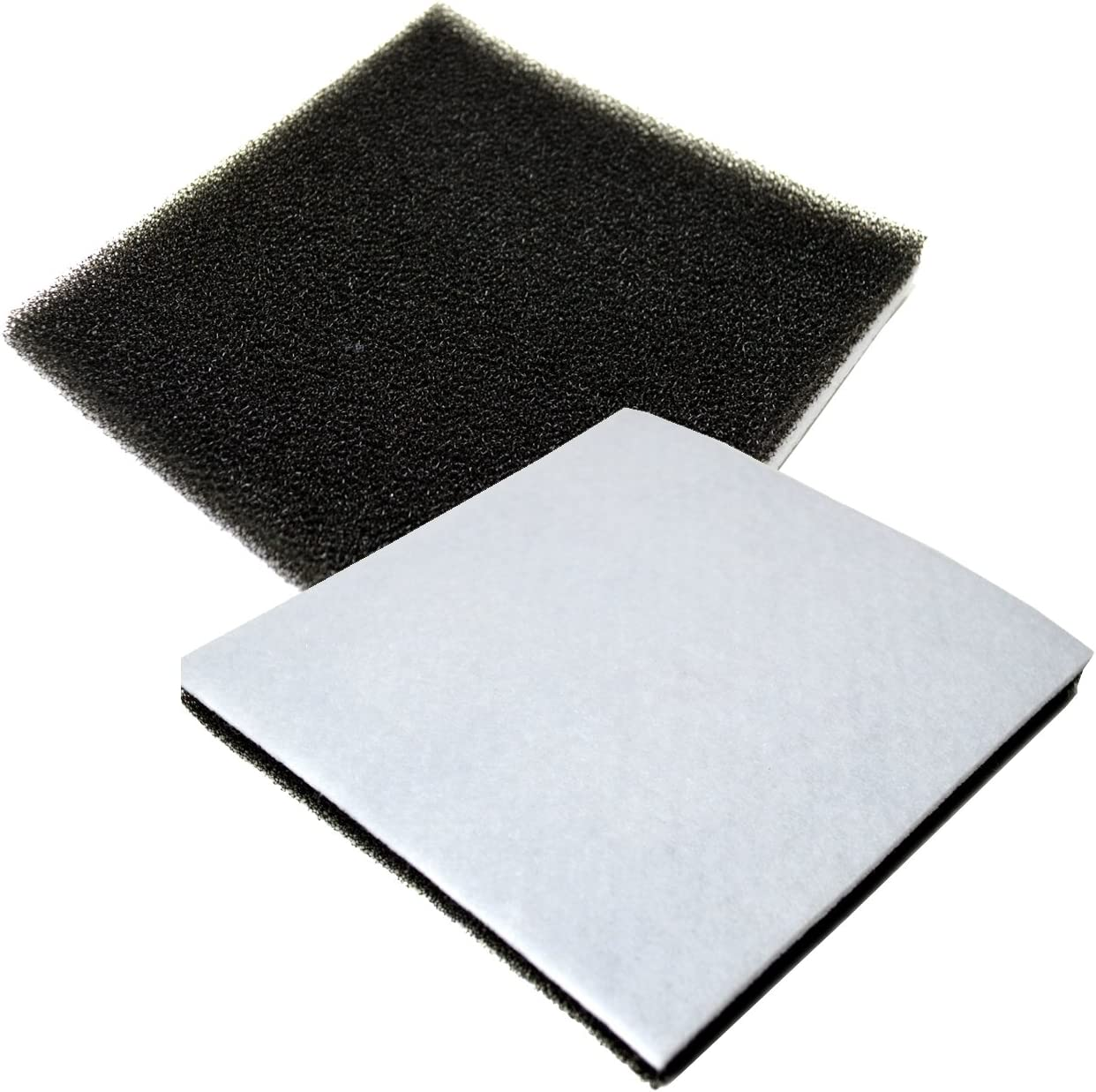HQRP 2-Pack Foam Filter New sales for Kenmore CF-1 86883 Sears Recommended CF1 20-8
