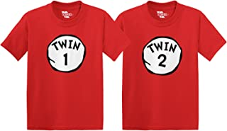 Twin 1 & Twin 2 Toddler/Infant T-Shirt 2 Pack