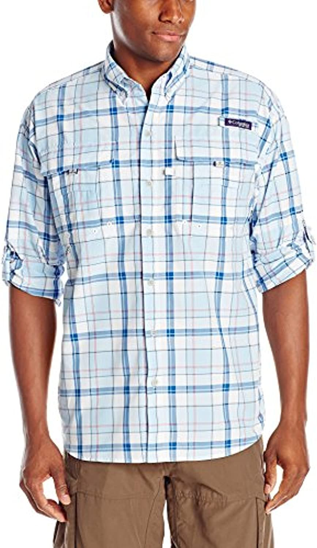 Columbia Men's Max 69% OFF Super Bahama Long Shirt Sleeve Cheap mail order sales
