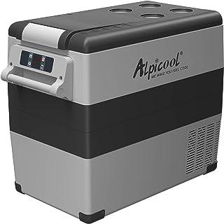 Alpicool CF55 Portable Refrigerator 58 Quart(55 Liter) Vehicle, Car, Truck, RV, Boat, Mini fridge freezer for Driving, Tra...