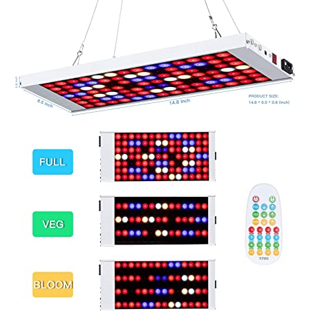 LED Pflanzenlichter Grow Light Bar P30 50W LED Wachstumslampe Vollspektrum