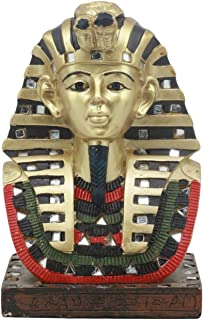 Ebros Ancient Egyptian Mask Of King Tut Bust Statue 6