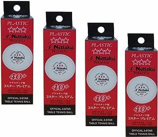 Nittaku 3-Star Premium 40+ Table Tennis Balls
