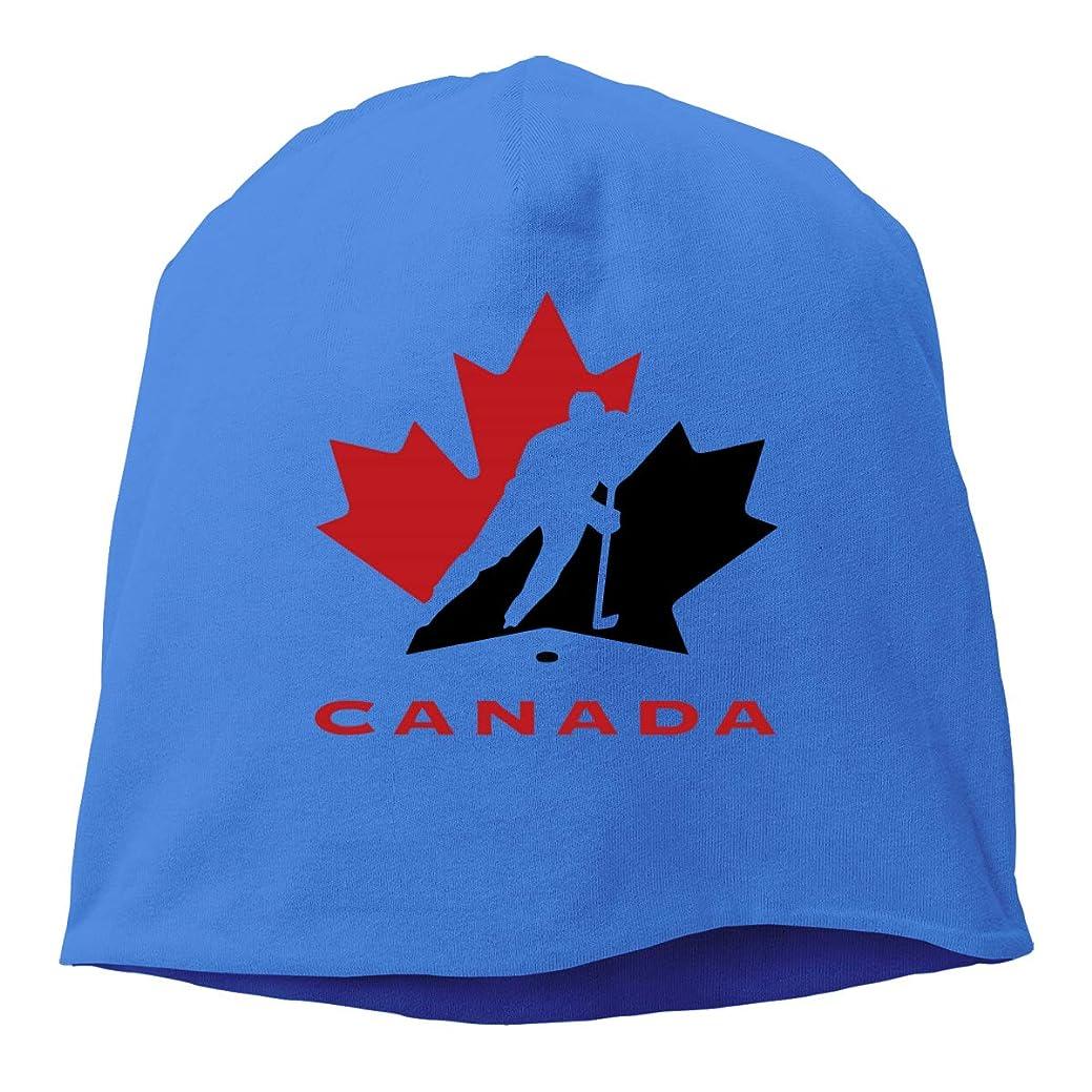 賭け反抗おとこメンズとレディースの 毛糸の帽子, 気持ちがいい アイス?ホッケー?カナダ ロゴ スキー帽 対する 男性と女性