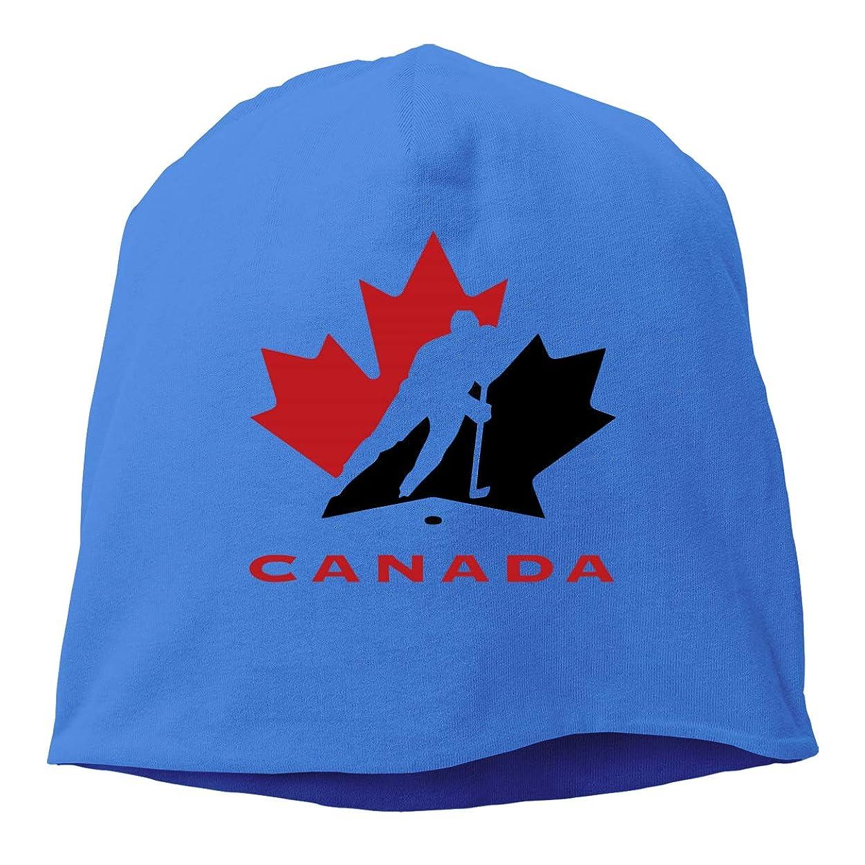 香り誘う勧めるメンズとレディースの 毛糸の帽子, 気持ちがいい アイス?ホッケー?カナダ ロゴ スキー帽 対する 男性と女性