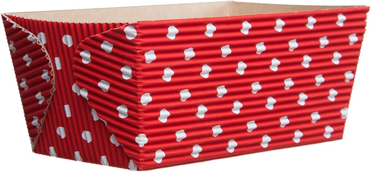 Welcome Home Beauty products Brands San Francisco Mall CT8220 Red-with-White-Dots Rectangular Loaf