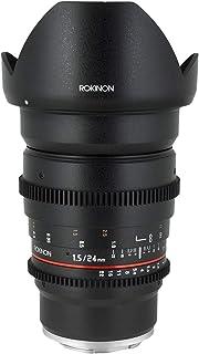 Rokinon 24mm T1.5 Wide Angle Cine Lens for Olympus and Panasonic Micro 4/3 (MFT) Mount Digital Cameras (CV24M-MFT)