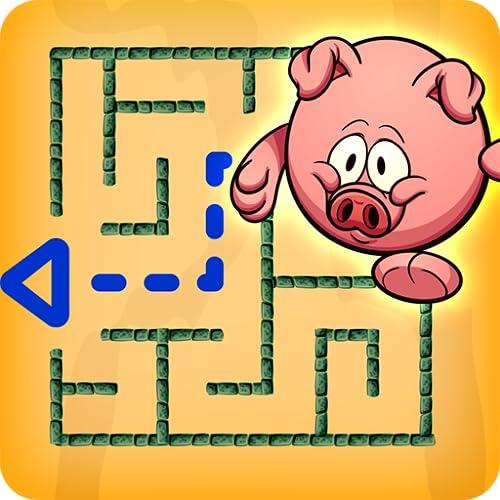 Maze spiel - Kinderpuzzle und Lernspiel