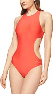 Calvin Klein Women's Core Neo Cut-Out Swimsuit