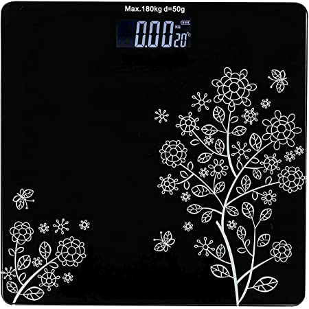 Nubilous Heavy Thick Tempered Glass LCD Display Digital Personal Bathroom Health Body Weight Weighing Scales For Body Weight