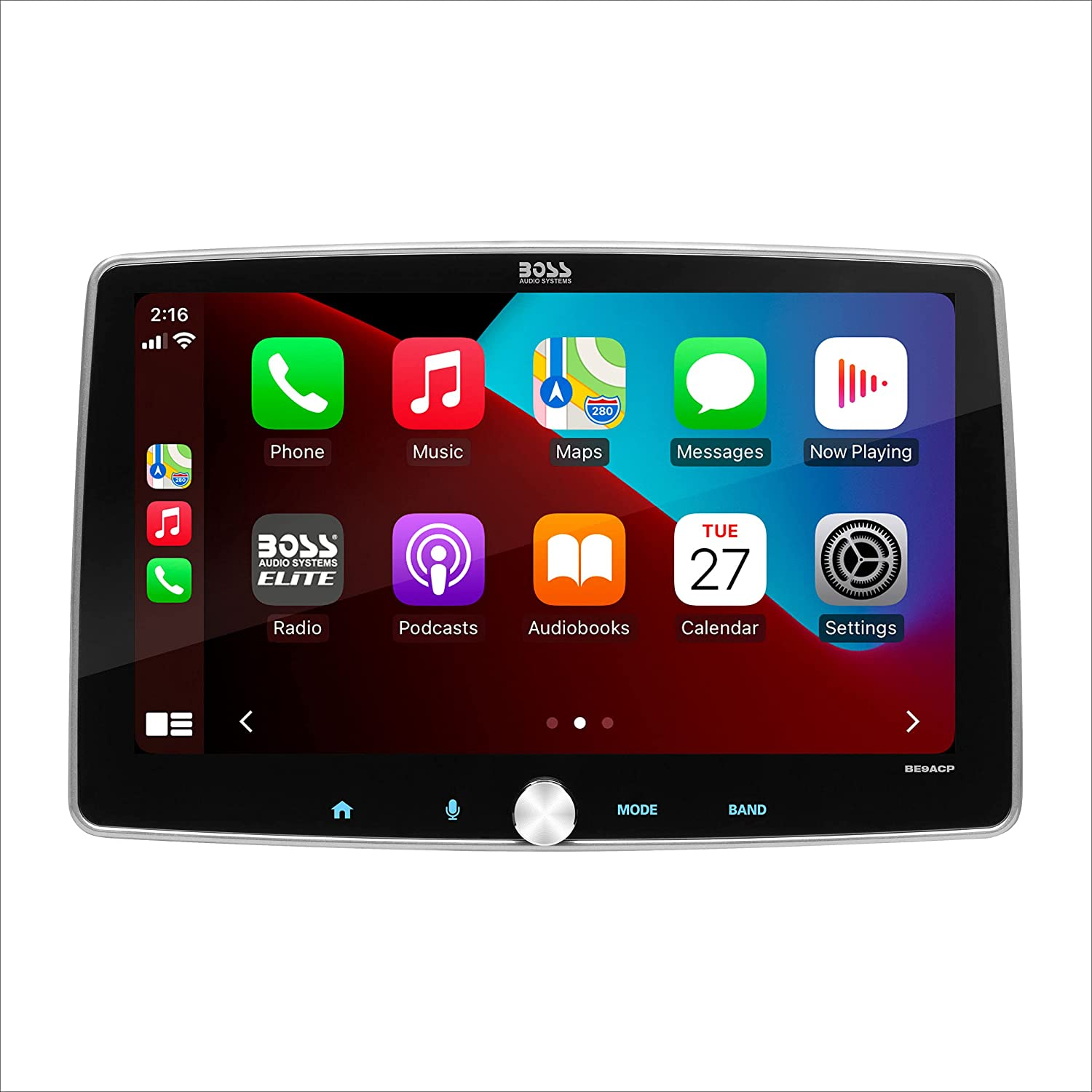Tampa Mall Indefinitely BOSS Audio Systems Elite BE9ACP - Auto Android CarPlay Apple S