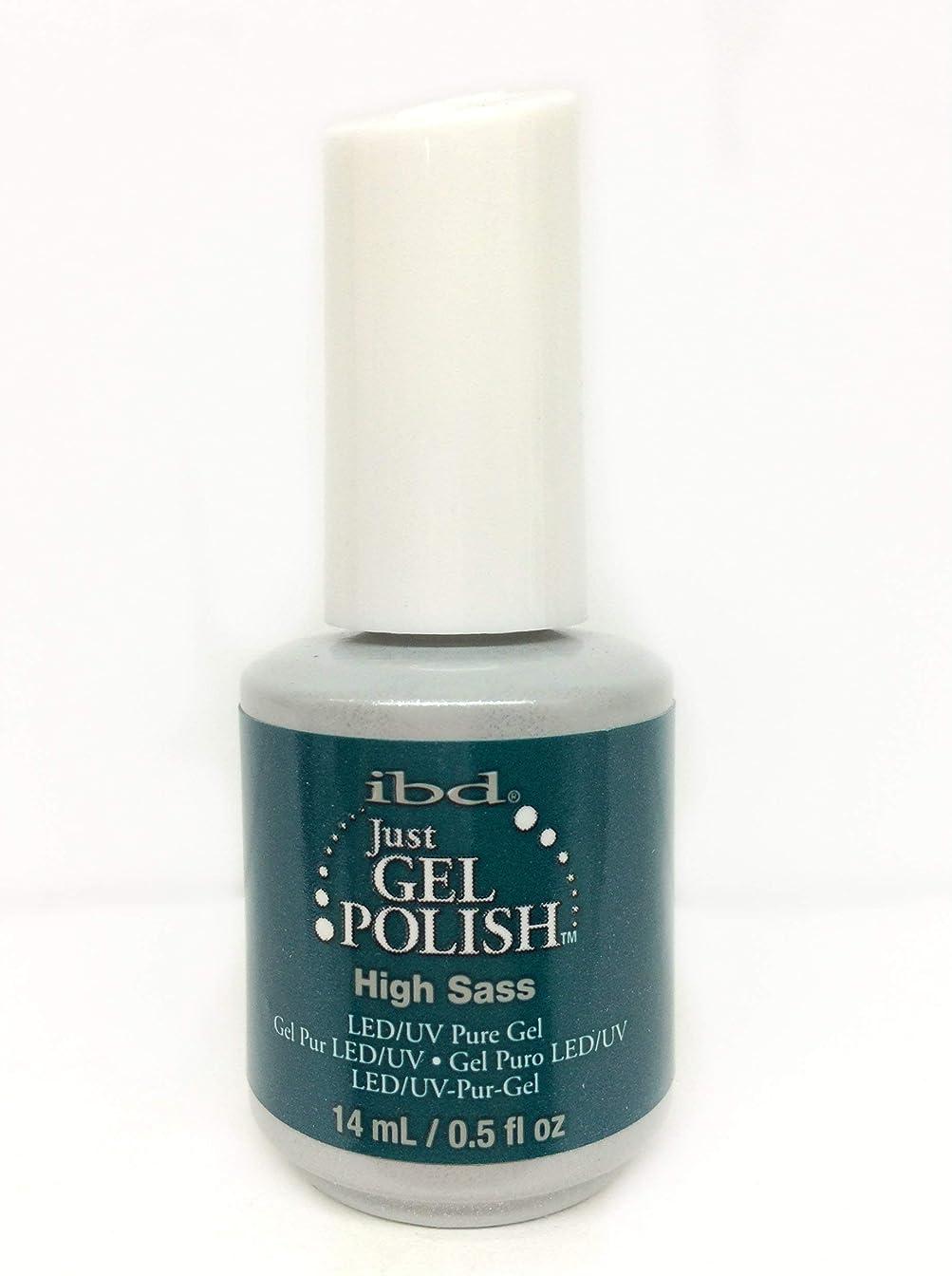 猫背ごみ活気づくibd Just Gel Nail Polish - High Sass - 14ml / 0.5oz