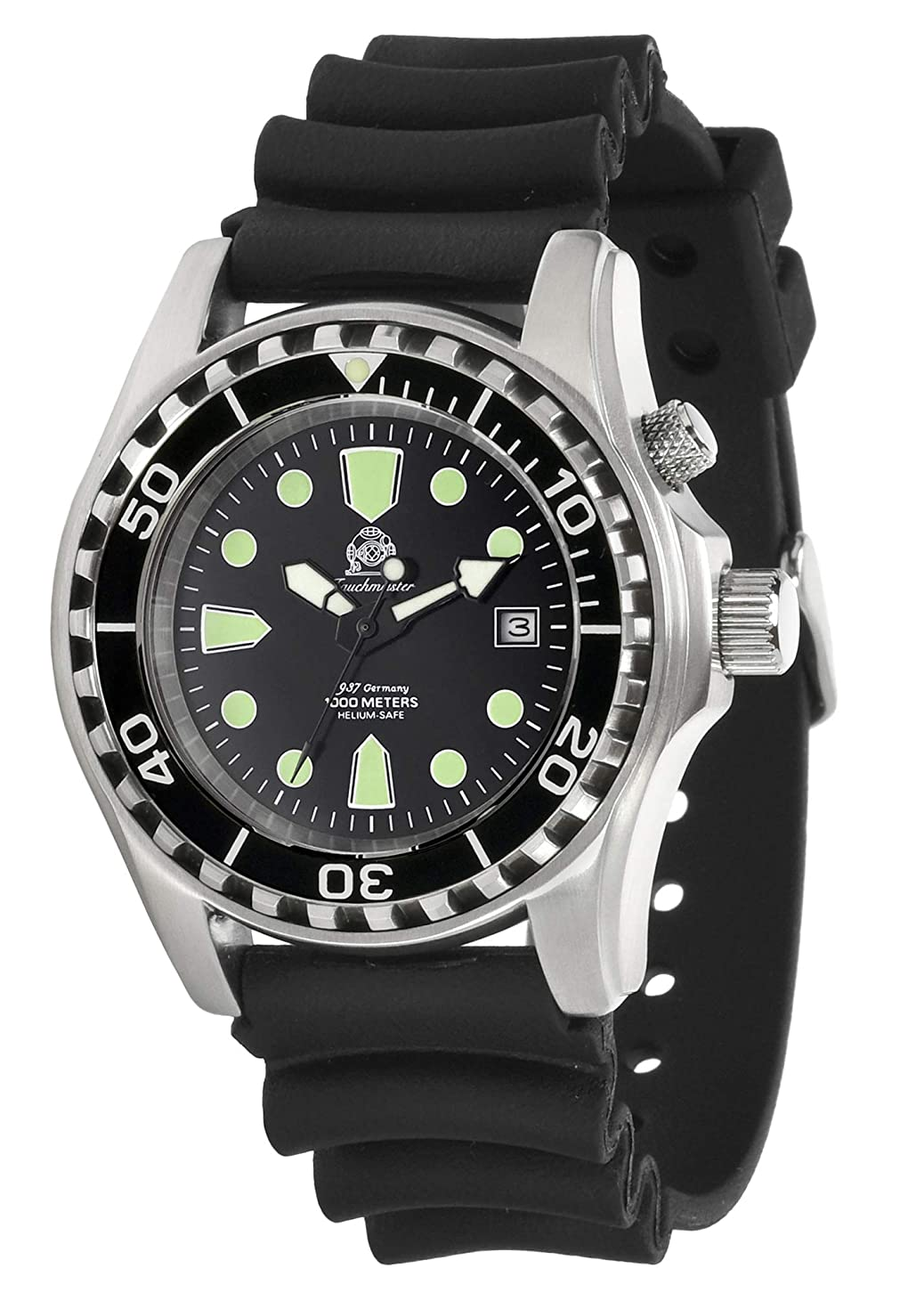 浅い科学的初期のトーチマイスター1937 腕時計 100ATM 自動巻 ダイバー ヘリウムリリースバルブ T0257 並行輸入品
