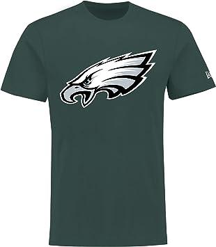New Era Camiseta NFL Fútbol Americano Seahawks Vikings Eagles Packers Verde Morada