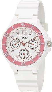 Casio Womens Quartz Watch, Analog Display and Plastic Strap LRW-250H-4A