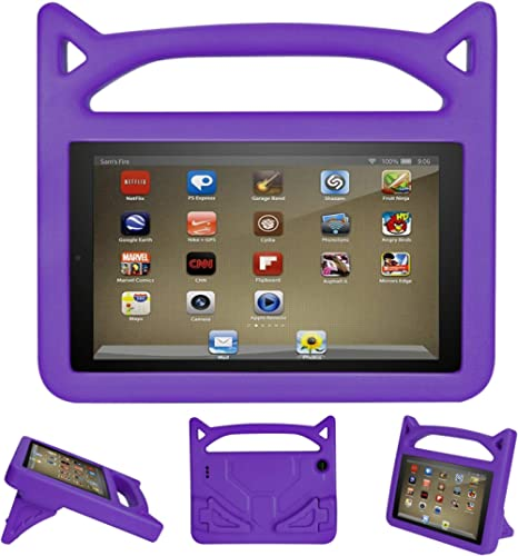 7 inch Tablet Kids Case 2019-Auorld Kids-Proof Protective Case Cover for 7 inch Tablet (Compatible with 2019&2017 Rel...
