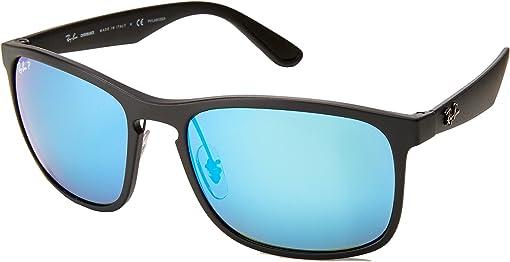 Black/Blue Mirror