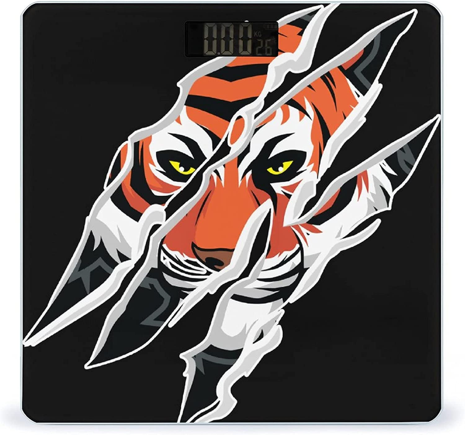 Tiger Claw Mark Highly Accurate Scale Very popular Weight Smart Japan's largest assortment Digit Fitness