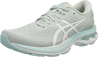 ASICS Women's Gel-Kayano 27 Running Shoe, Turquoise, 6 UK (6 EU)