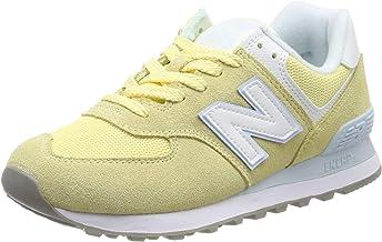zapatillas new balance hombres 574 amarillas