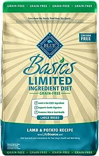 Blue Buffalo Basics Limited Ingredient Diet, Grain Free Natural Adult Dry Dog Food, Salmon & Potato
