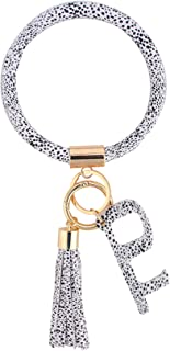 Coolcos Large Circle Bangle Keychain Touchless Door Opener Clean Key Germ Multitool Holder Upgraded Keyring Wristlet Bracelet
