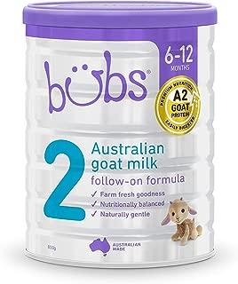 Bubs Advanced Plus+ Stage 2 Goat Milk Follow On Formula, 800 g